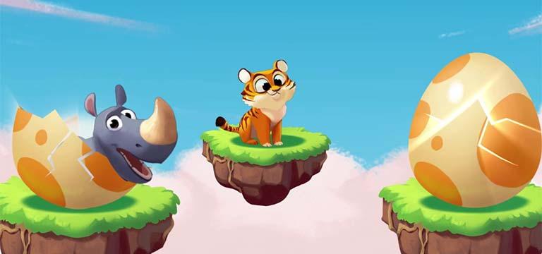 Mascotas en el Coin Master: Foxy, Tigre y Rhino