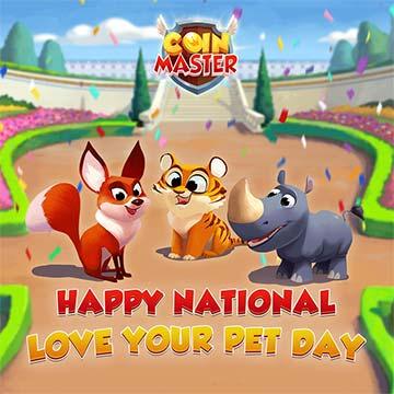 Tus mascotas para jugar al Coin Master