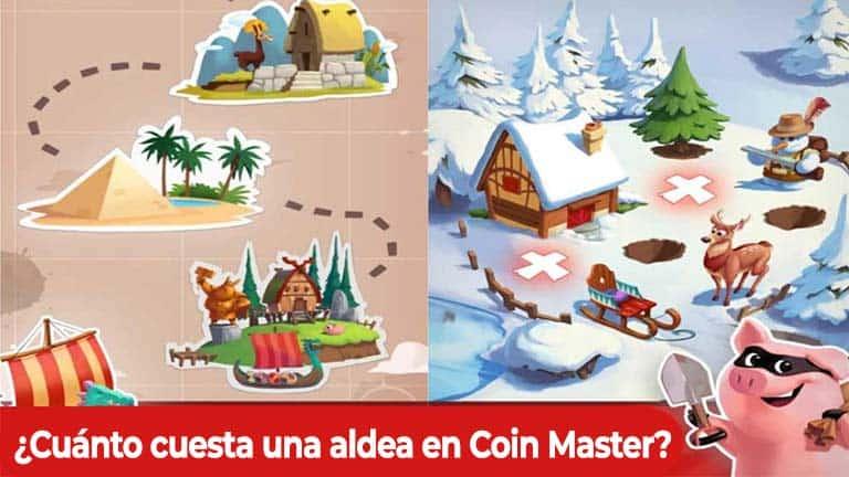 Cuánto cuesta una aldea en Coin Master