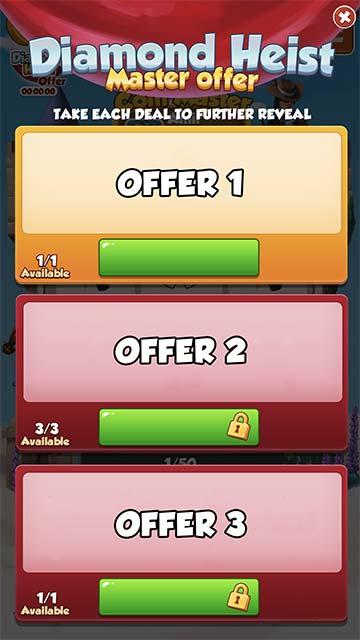 Tiradas gratis con la oferta triple de Coin Master