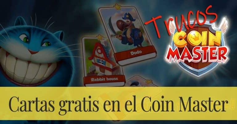 Cartas gratis en el Coin Master: ¿Cómo conseguir cartas doradas y cartas raras?