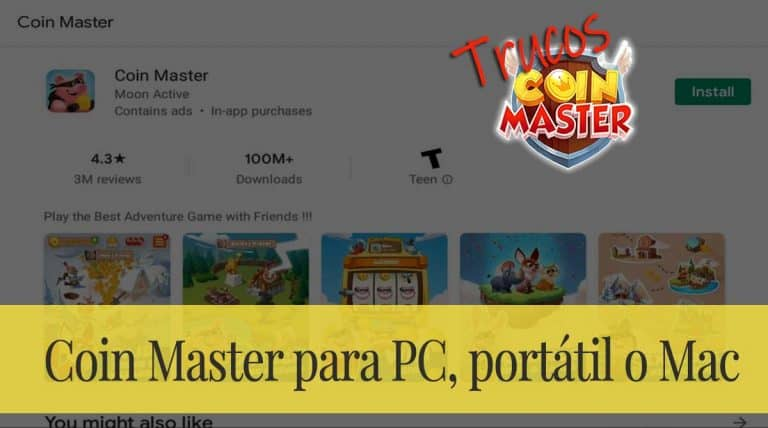 Descargar el Coin Master para PC, portátil o Mac