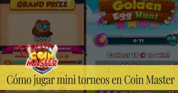 Cómo jugar mini torneos en Coin Master