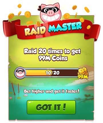 Maestro del saqueo (Raid Madness)