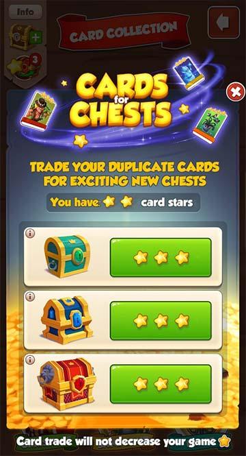 Cards for Chests (Cartas por cofres)