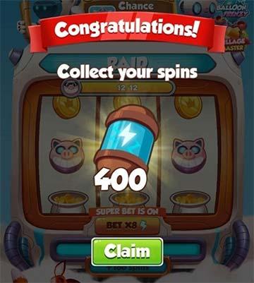 Spins Gratis Coin Master 2021