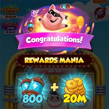 Coin Master links para free spins y coins