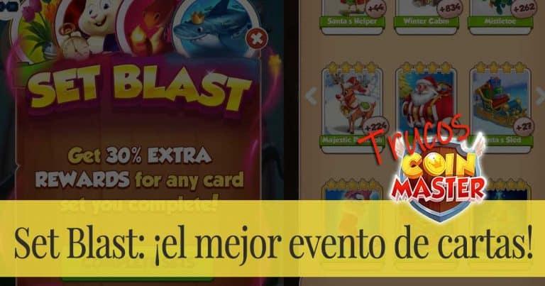 Set Blast (Explosión de sets): ¡el mejor evento de cartas!