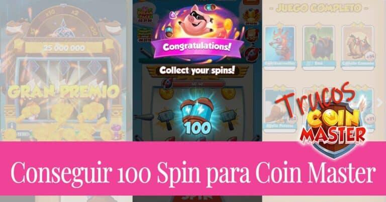 6 Técnicas para conseguir 100 Spin de Coin Master