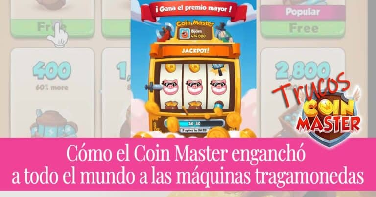 Cómo el Coin Master enganchó a todo el mundo a las máquinas tragamonedas